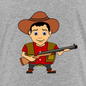Cowboy Wild West Sheriff - Kids' Premium T-Shirt