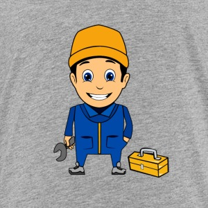 Craftsmen Painters Maurer mechanic - Kids' Premium T-Shirt