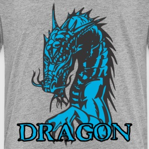 agry looking dragon - Kids' Premium T-Shirt