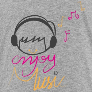 ENJOY MUSIC - Kids' Premium T-Shirt