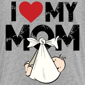 I Love my Mom - Kinderen Premium T-shirt