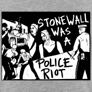 Stonewall was a police riot - T-shirt Premium Enfant