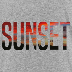 sunset - T-shirt Premium Enfant