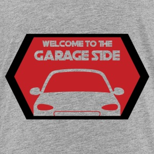 Mechanic: Welcome To The Garage Kant - Kinderen Premium T-shirt