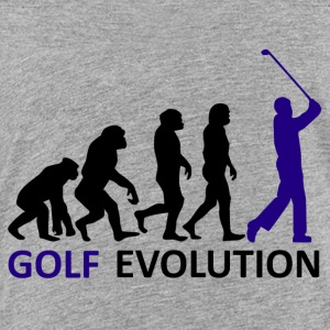 ++ ++ Golf Evolution - Premium-T-shirt barn