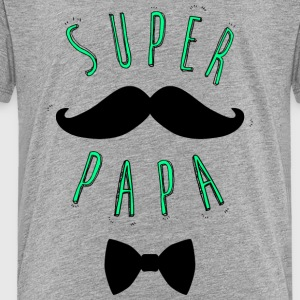 Super Daddy Mustache - Kids' Premium T-Shirt