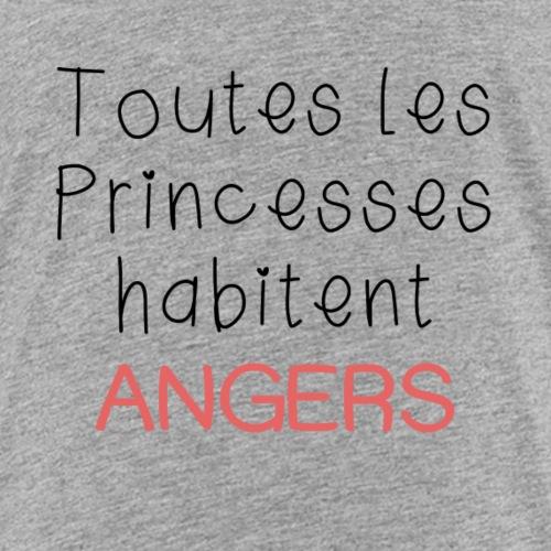 Toutes les princesses habitent angers - T-shirt Premium Enfant