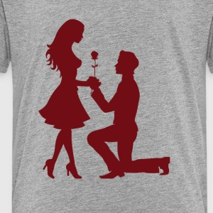Love couple / application - Kids' Premium T-Shirt