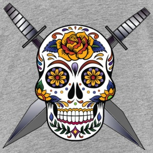 Cross skull swords - Kids' Premium T-Shirt