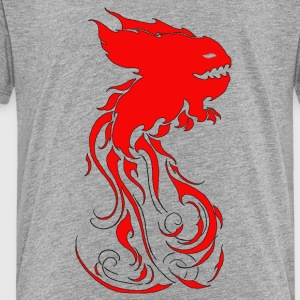 KromysflameRED - Premium T-skjorte for barn
