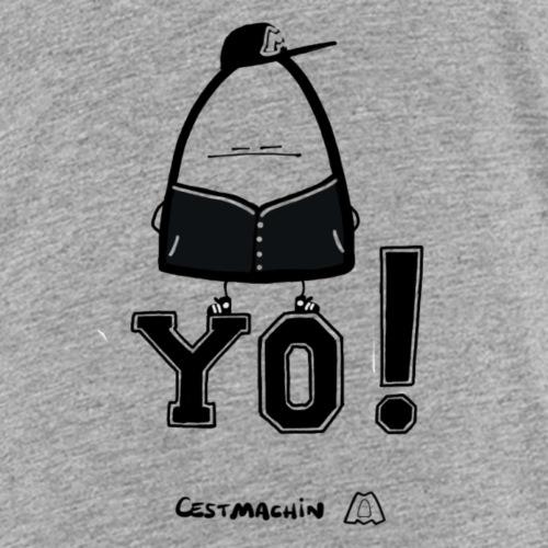 Yo Black and White - T-shirt Premium Enfant