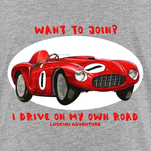Happy Car Red - Kids - Premium-T-shirt barn