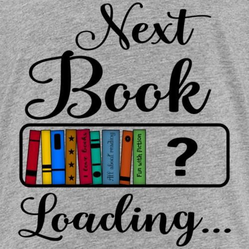 Hobby Lesen Bücher Nerd Ladebalken Book Loading - Kinder Premium T-Shirt