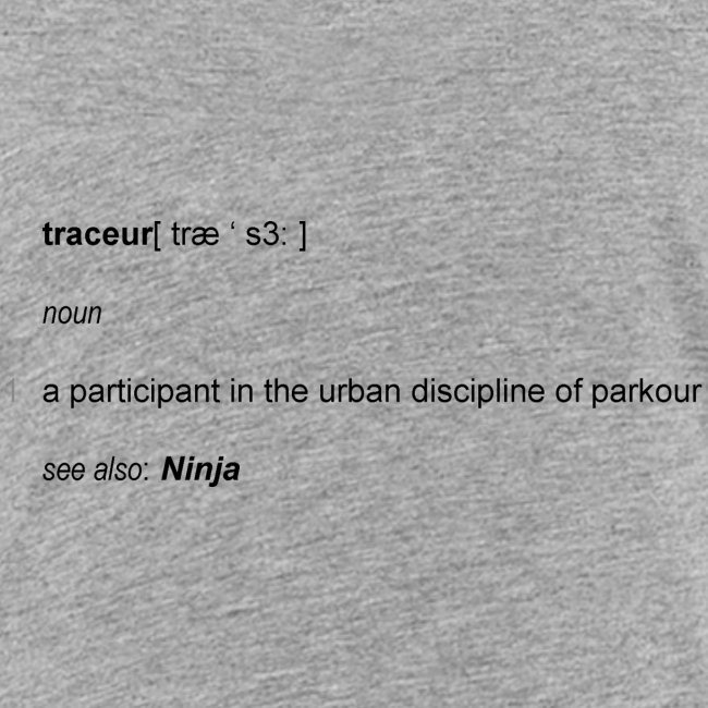 Traceur dictionary see also ninja