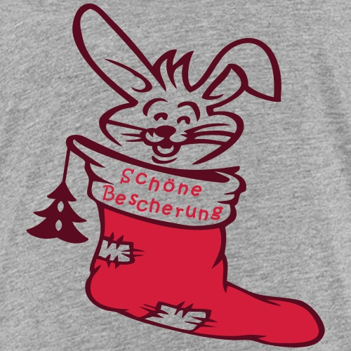 Nikolausstiefel mit Hase - Kinder Premium T-Shirt
