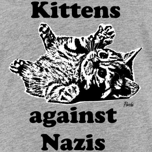 kittensagainstnazis - Kinder Premium T-Shirt