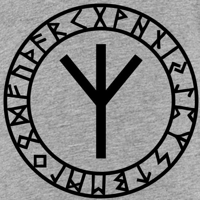 Algiz - Elhaz Rune I Schutz & Höheres Selbst I 1cI