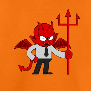 Duivel demon monster hel - Kinderen Premium T-shirt