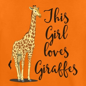 I like giraffes v2 - Kids' Premium T-Shirt
