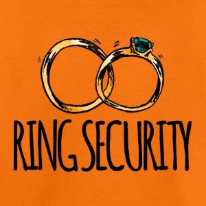 Wedding / Marriage: Ring Security - Kids' Premium T-Shirt