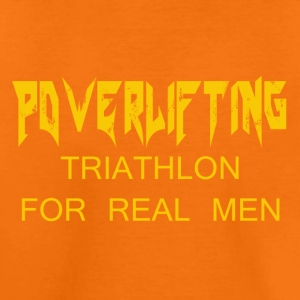 TRIATHLON FOR REAL MEN - Kids' Premium T-Shirt
