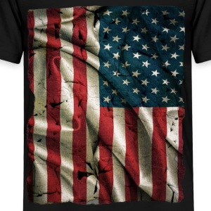 Vintage USA Flag - Kids' Premium T-Shirt