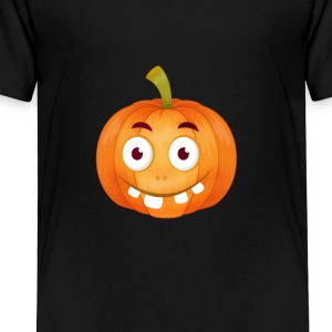 Emoji gresskar Glad Thanksgiving t-skjorte comic STUP - Premium T-skjorte for barn