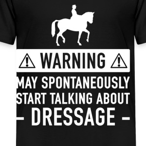 Funny Dressage Gift Idea - Kids' Premium T-Shirt