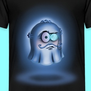 Ghost with monocle - Koszulka dziecięca Premium