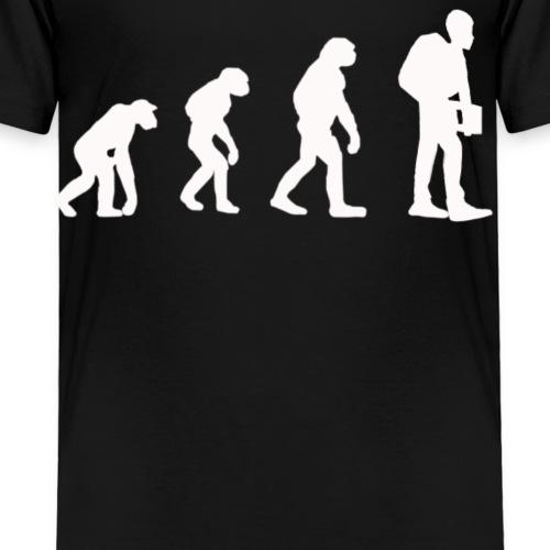 Evolution der Schüler - Kinder Premium T-Shirt
