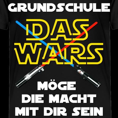 Grundschule - DAS WARS - Kinder Premium T-Shirt