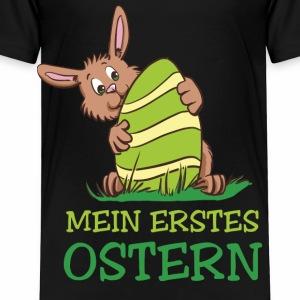 Mein erstes Ostern - Osterhase mit Ei - Kinder Premium T-Shirt