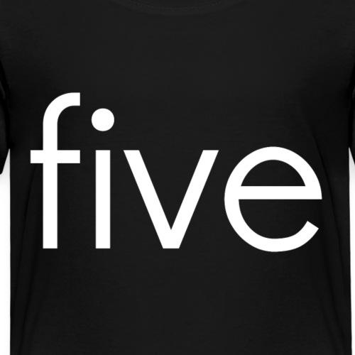 fivew - Kids' Premium T-Shirt
