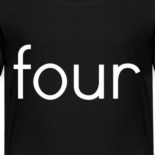 fourw - Kids' Premium T-Shirt