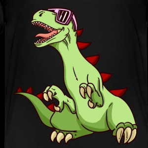 Dinosaurier Funky Kinder lustiger Dino T-Rex NEU - Kinder Premium T-Shirt