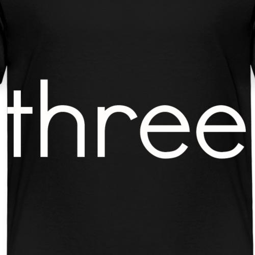 threew - Kids' Premium T-Shirt
