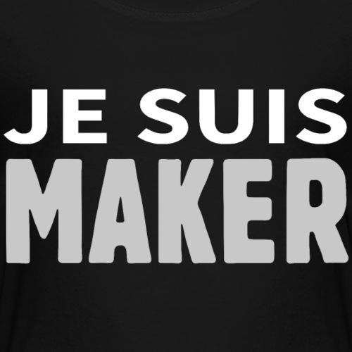 JE SUIS MAKER - T-shirt Premium Enfant