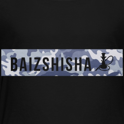 Blau Camouflage - Kinder Premium T-Shirt