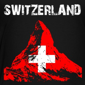 Nation-Design Switzerland Matterhorn - Kinder Premium T-Shirt