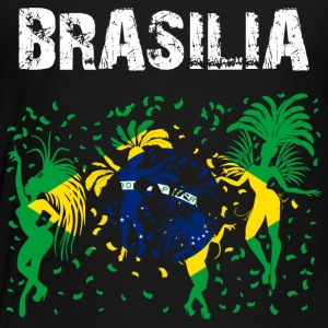 Nation-Design Brasilia Carnival Rio - Kinder Premium T-Shirt