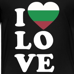 I love Bulgaria - Kids' Premium T-Shirt
