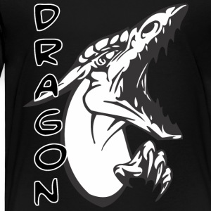 screaming sharp face dragon - Kids' Premium T-Shirt