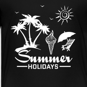 Summer sun beach and sea - Kids' Premium T-Shirt
