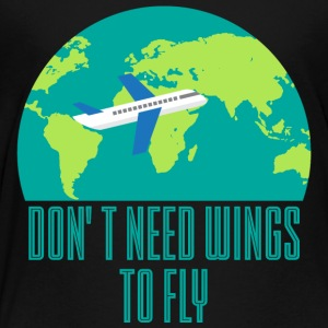 Pilot: Don't need wings to fly. - Kids' Premium T-Shirt