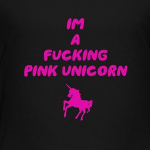 Pink Unicorn - Kinder Premium T-Shirt