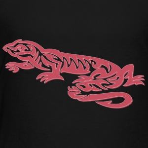 Cool tribal lizard - Kinderen Premium T-shirt