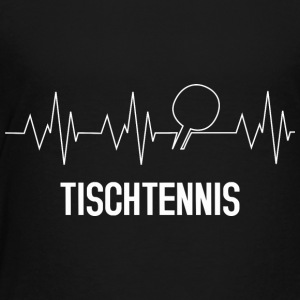 tennis de table Heartbeat - T-shirt Premium Enfant
