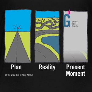 Olan Reality Present Moment_white - Kids' Premium T-Shirt