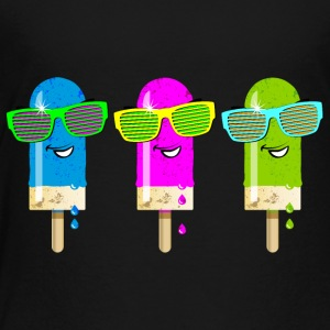 Eis am Stiel ice lolly ice cream Sommer Gelato süß - Kinder Premium T-Shirt