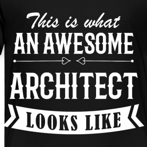 Awesome Architect - Kinderen Premium T-shirt